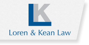 Loren and Kean Law logo